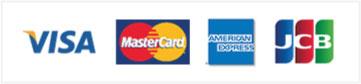 クレジットカードでホームページ制作代金がお支払いいただけます。